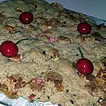 recette Cookie géant aux flocons d'avoine et marshmallow