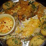 recette Carrelet beurre au safran