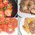 recette CONFIT DE CANARD AUX TOMATES PROVENCALES