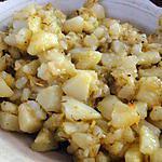 recette Pommes de terre au citron et au thym