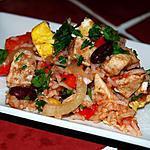 recette Poulet aux épices et riz