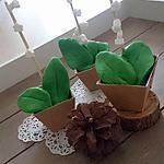 recette Cupcakes *pots de muguet* gourmand à offrir