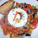 recette Paupiette de veau aux petits légumes..