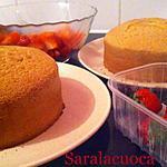 recette Génoise pour layer (15 cm )