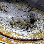 recette Gâteau a la poêle au myrtilles