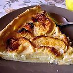 recette Tarte aux pommes et amandes