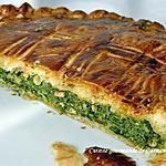 recette Tourte aux épinards ricotta et gorgonzola