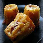 recette Cannelé au chorizo & au comté