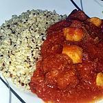 recette Calamar a la sauce tomate et au chorizo