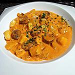 recette Ragoût de Pommes de terre aux seiches et chorizo à la rouille