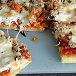 recette Pizza au thon
