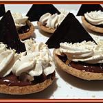recette Tartelettes chocolat et Caramel