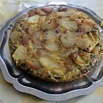 recette Tortilla  pommes de terre thon