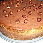recette Cheese-cake poire chocolat