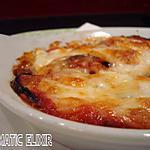 recette Gratin d' aubergines/tomates & mozzarella di Bufala