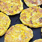 recette Galettes courge fromage