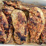 recette Blancs de poulet marinés