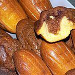 recette Madeleines au nutella