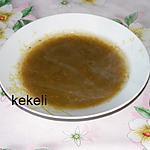 recette Soupe de légumes et épinards
