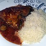 recette Poulet kedjenou et semoule de manioc plat ivoirien
