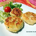 recette Maâkouda ou galettes de pommes de terre