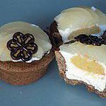 recette Tartelettes amande/poire/chocolat