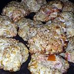 recette Rochers au saumon