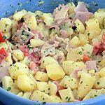 recette Salade de pommes de terre gloria