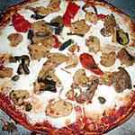 recette PIZZA AUX LEGUMES GRILLES