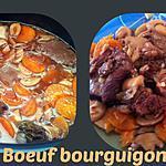 recette BOEUF BOURGUIGNON au COOKEO
