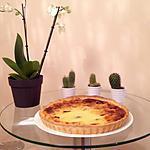 recette Flan pâtissier aux pruneaux