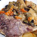 recette Cuisses de canard aux légumes
