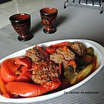 recette Boulettes de viandes aux épices et poivrons
