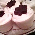 recette mignardise chocolat, chantilly