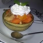 recette Salade de fruits dans sa coupe de melon