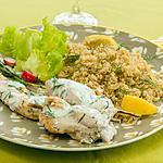 recette Brochettes de poulet sauce yaourt