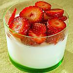recette Panna cotta fraises coco