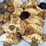 recette Quenelles de poulet sauce forestière