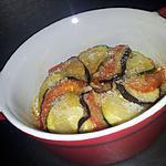 recette Tian de légumes express au parmesan (cuisson au micro-ondes)