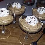 recette Mousse au caramel beurre salé au copeaux de chocolat