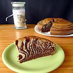 recette Zebra cake au chocolat et à l'orange