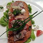 recette Salade ou canapé de maatjes