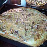 recette Pizza aux fruits de mer
