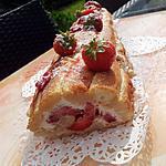 recette Gâteau Roulé de boudoirs aux gariguettes-chantilly