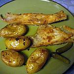 recette Ailes de raie à ma façon avec pommes de terre au four (batatas ao murro)