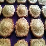 recette Madeleines au miel/cassonade