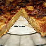 recette Gâteau pommes/rhubarbe/fraises/orange