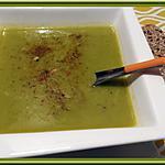 recette Soupe de brocolis au curcuma