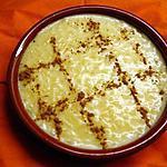 recette Arroz doce branco(riz au lait recette Portugaise)