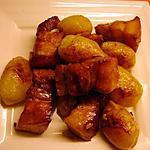 recette Barriga de Porco (poitrine de porc et ses pommes de terre)
